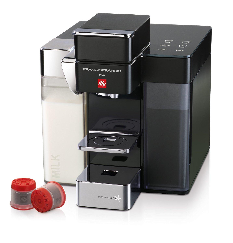 Illy Francis Francis Y5 Milk | Illy Y5 Coffee & Espresso Maker