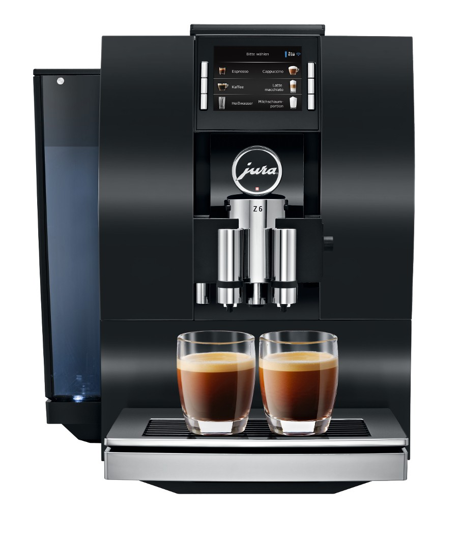 jura z6 jura z6 coffee machine 1st in coffee. Black Bedroom Furniture Sets. Home Design Ideas