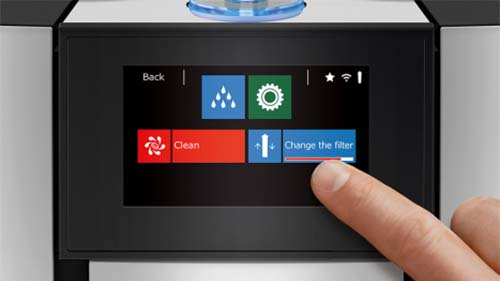 Jura Color Touchscreen Display