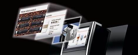 Jura TFT Display and Rotary Switch