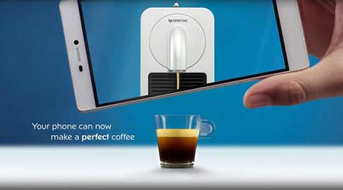 Make coffee from your phone